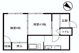 [一戸建] 埼玉県朝霞市根岸台4丁目 の賃貸【/】の間取り