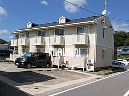 愛知県瀬戸市山口町の賃貸アパートの外観