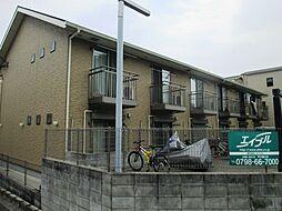 兵庫県尼崎市武庫川町4丁目の賃貸アパートの外観