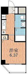 グランパシフィック聖天坂[3階]の間取り