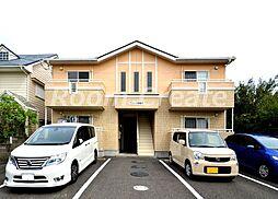 徳島県徳島市八万町大坪の賃貸アパートの外観