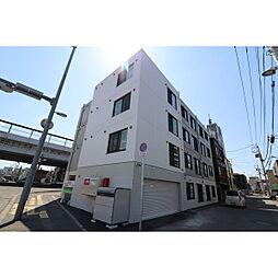 北海道札幌市北区北三十四条西2丁目の賃貸マンションの外観