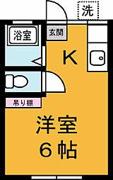 高橋アパート[101号室]の間取り