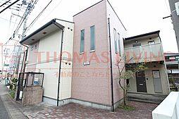 福岡県古賀市駅東1丁目の賃貸アパートの外観