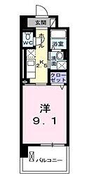 CASTLE AZUCHI[2階]の間取り