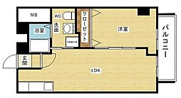 チサンマンション新大阪[5階]の間取り