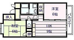アーバン ハウス[2階]の間取り