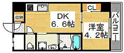 GOLDEN HILLSS 3番館[2階]の間取り