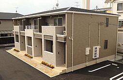 広島県広島市西区南観音1丁目の賃貸アパートの外観