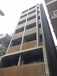 東京都港区新橋5丁目の賃貸マンションの外観
