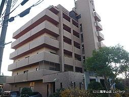 大阪府東大阪市岩田町6丁目の賃貸マンションの外観