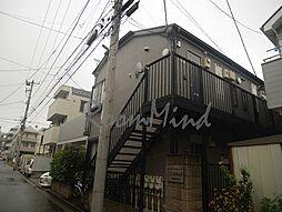神奈川県横浜市西区岡野1丁目の賃貸アパートの外観