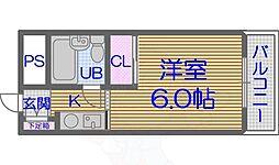 寺田町駅 2.5万円