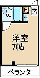 大阪府寝屋川市石津元町の賃貸マンションの間取り