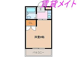 アベニュー小田[2階]の間取り