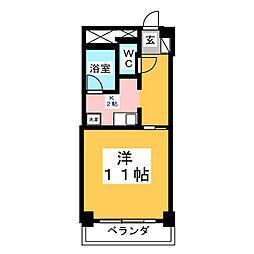 VIP仙台二日町ANNEX[4階]の間取り