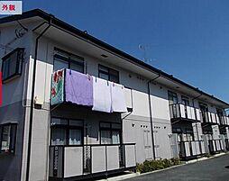 埼玉県東松山市本町1丁目の賃貸アパートの外観
