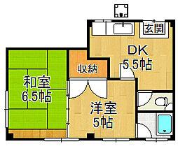 みずほ住宅[4階]の間取り