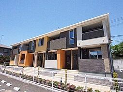 福岡県直方市大字頓野の賃貸アパートの外観