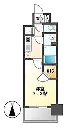プレサンス名古屋グロウ[2階]の間取り