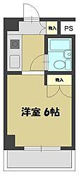 エクセレント忍ケ丘6階Fの間取り画像