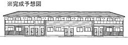 プロムナードメゾン弐番館 D[2階]の外観