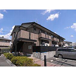 京都府木津川市州見台の賃貸アパートの外観