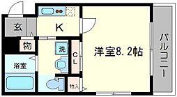 K&M[2階]の間取り
