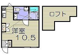[テラスハウス] 大阪府大阪市此花区梅香3丁目 の賃貸【/】の間取り