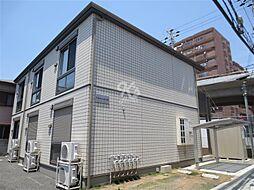 兵庫県明石市新明町の賃貸アパートの外観