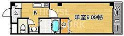 クオリカ紫竹[203号室号室]の間取り