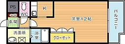 ソレイユII[2階]の間取り