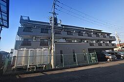 大阪府柏原市法善寺1丁目の賃貸マンションの外観