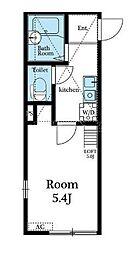 ラ・メール本郷台[2階]の間取り