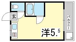 芳地ビル[4階]の間取り