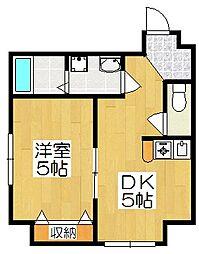 リーフジャルダン・レジデンスタワー[4階]の間取り