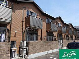 滋賀県大津市皇子が丘1の賃貸アパートの外観