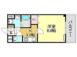 マ・メゾン加美[1O1号室号室]の間取り