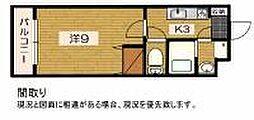 Shibuya一番館[3階]の間取り
