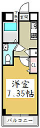 アルファコート西川口6[4階]の間取り