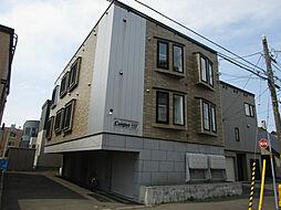 北海道札幌市東区北三十七条東14の賃貸アパートの外観