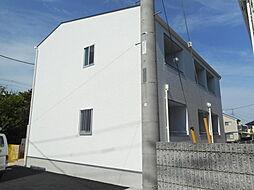 埼玉県東松山市加美町の賃貸アパートの外観