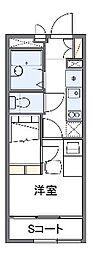 ブランデール島根[1階]の間取り