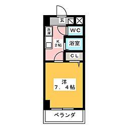 Century Nagono[5階]の間取り