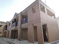 滋賀県東近江市青野町の賃貸アパートの外観