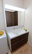 洗面室のイメージです。お客様のご要望をお伺いしてプランを作成することも可能です。