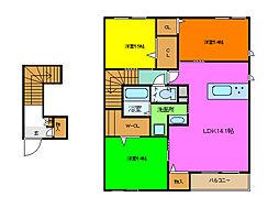 (仮称)シャーメゾン東大阪市日下町Pj[203号室]の間取り