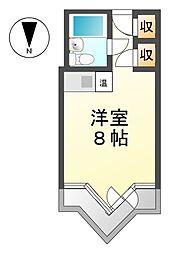 栄マンションS棟[9階]の間取り