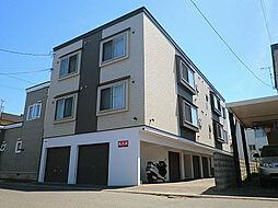 北海道札幌市東区北十九条東17丁目の賃貸アパートの外観