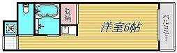 東京都世田谷区砧5丁目の賃貸マンションの間取り